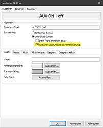 AUX-Button