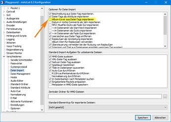 v6.3 Konfig Datei-Import